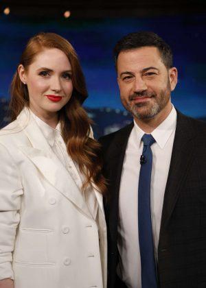 Karen Gillan - Appearance on Jimmy Kimmel Live in Hollywood