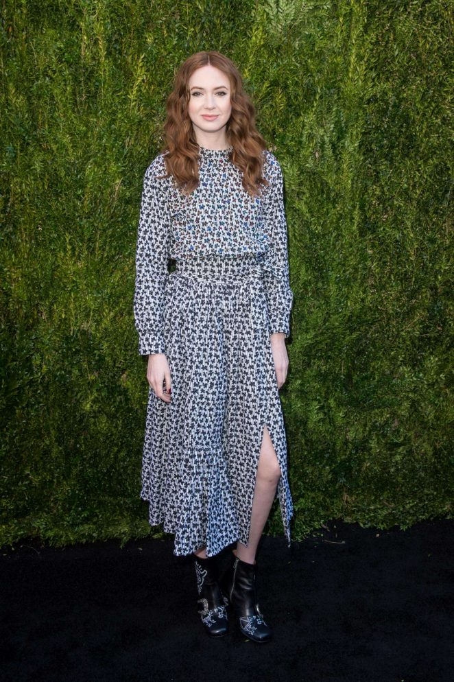 Karen Gillan - Chanel x Tribeca Film Festival Women's Filmmaker Luncheon in NY