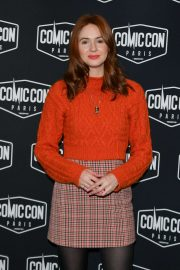Karen Gillan - Comic Con Paris 2019 at La Grande Halle de La Villette