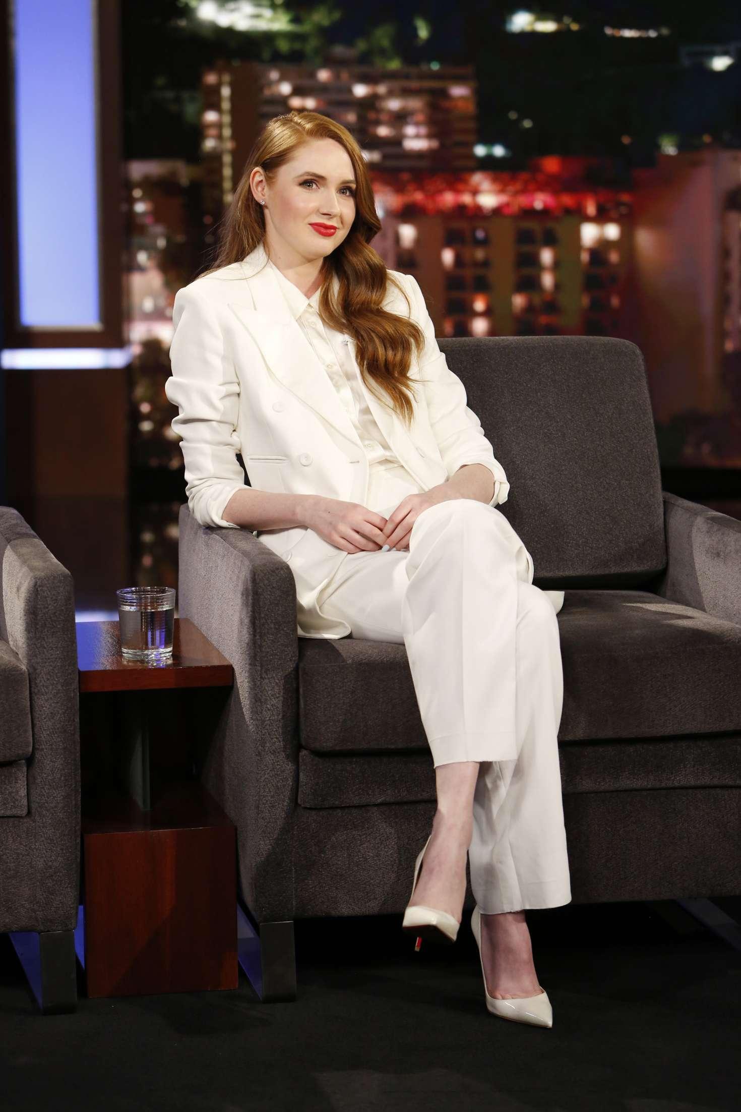 Karen Gillan - 'Jimmy Kimmel Live' in Los Angeles