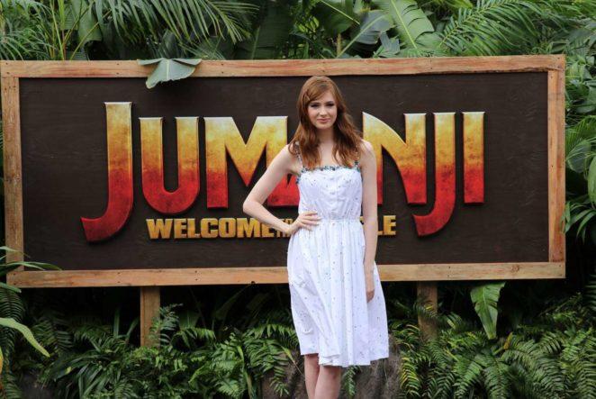 Karen Gillan - 'Jumanji: Welcome to the Jungle' Photocall ...