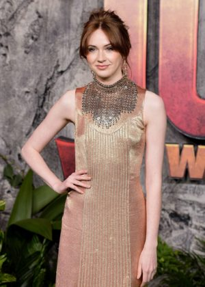 Karen Gillan - 'Jumanji: Welcome To The Jungle' Premiere in London