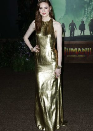 Karen Gillan - 'Jumanji: Welcome to the Jungle' Premiere in Los Angeles