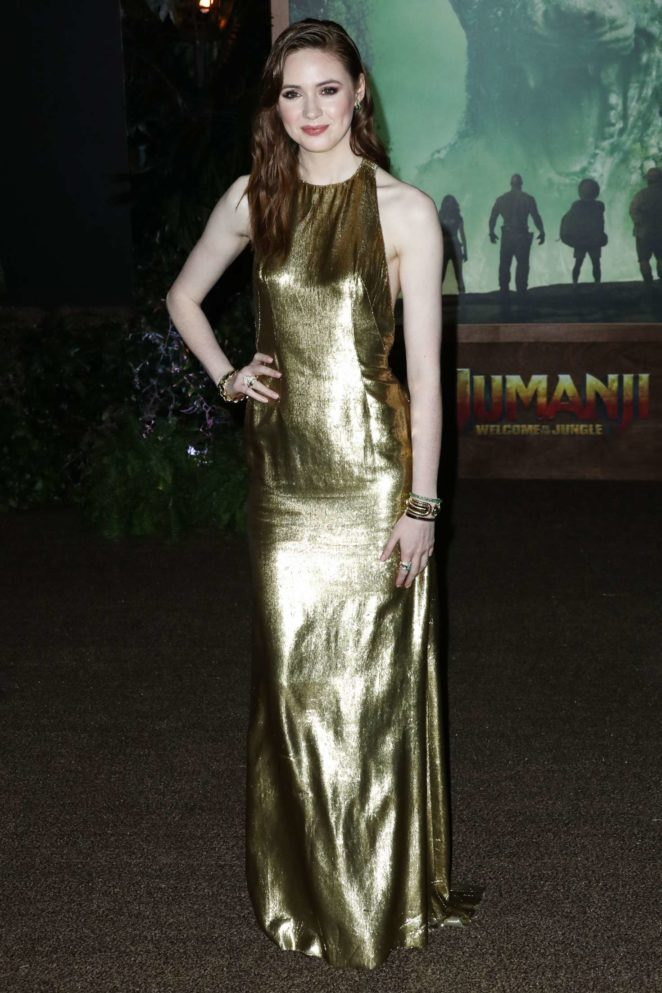 Karen Gillan - 'Jumanji: Welcome to the Jungle' Premiere in Los Angeles