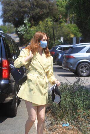 Karen Gillan - Leaves Jennifer Klien's Day of Indulgence in Brentwood