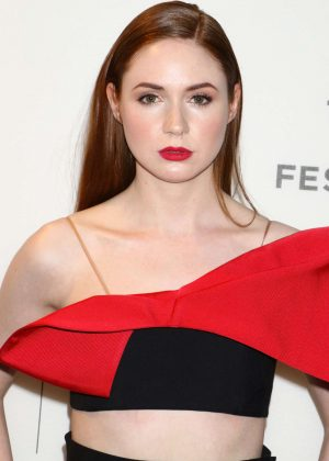 Karen Gillan - 'The Circle' Screening at Tribeca Film Festival in New York