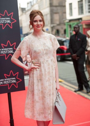 Karen Gillan - 'The Legend of Barney Thomson' Premiere in Edinburgh