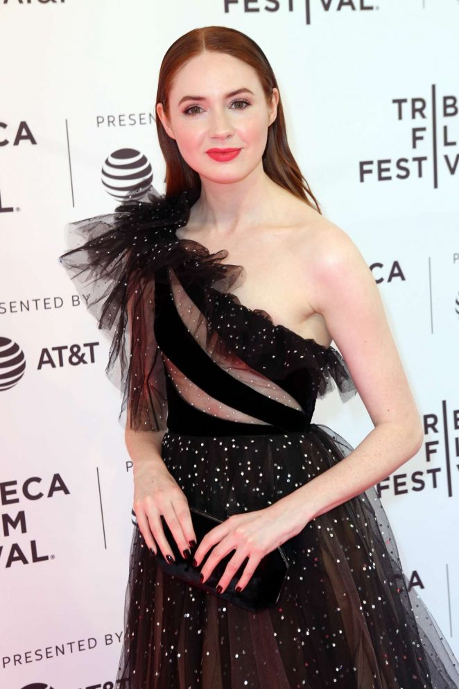 Karen Gillan - 'The Party's Just Beginning' Premiere at 2018 Tribeca Film Festival in NY