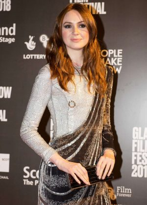 Karen Gillan - 'The Party's Just Beginning' Premiere in Glasgow