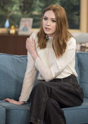 Karen Gillan - 'This Morning' TV show in London