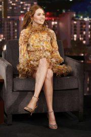 Karen Gillan - Visits Jimmy Kimmel Live! in Hollywood