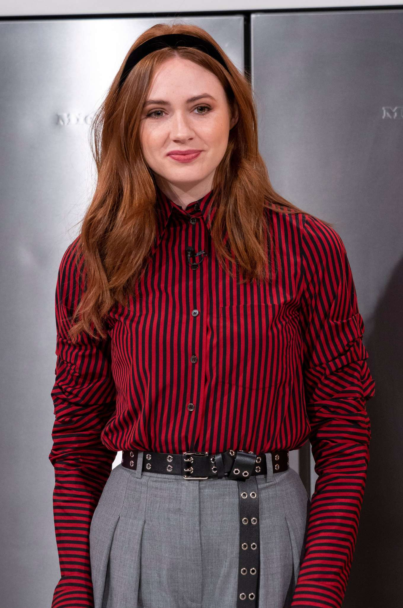 Karen Gillan - Visits the 'Lorraine' show in London