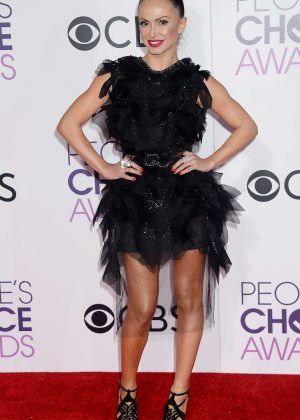 Karina Smirnoff - 2017 People's Choice Awards in Los Angeles
