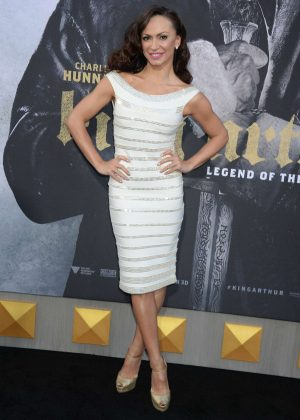 Karina Smirnoff - 'King Arthur: Legend Of The Sword' Premiere in Hollywood