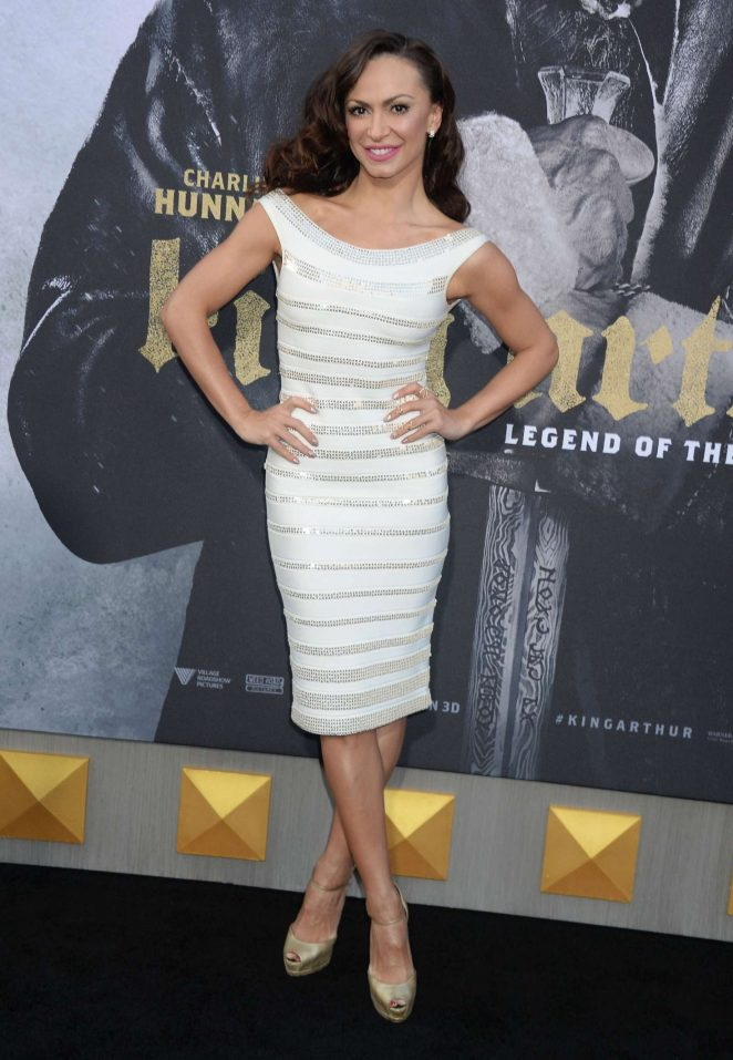 Karina Smirnoff – 'King Arthur: Legend Of The Sword' Premiere in Hollywood