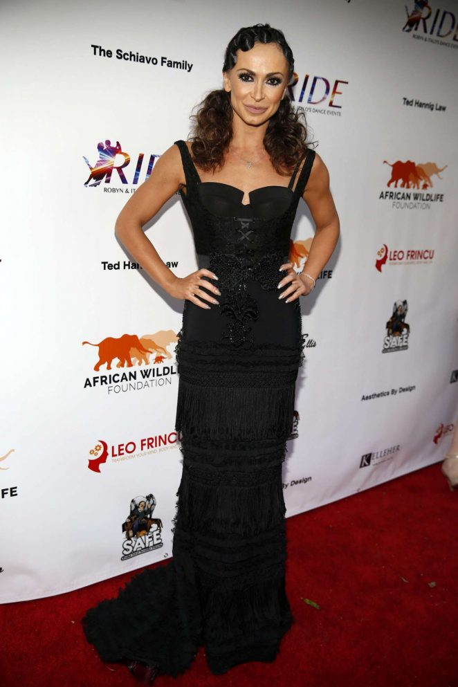 Karina Smirnoff – Ride Foundation inaugural gala dance for Africa in Hollywood
