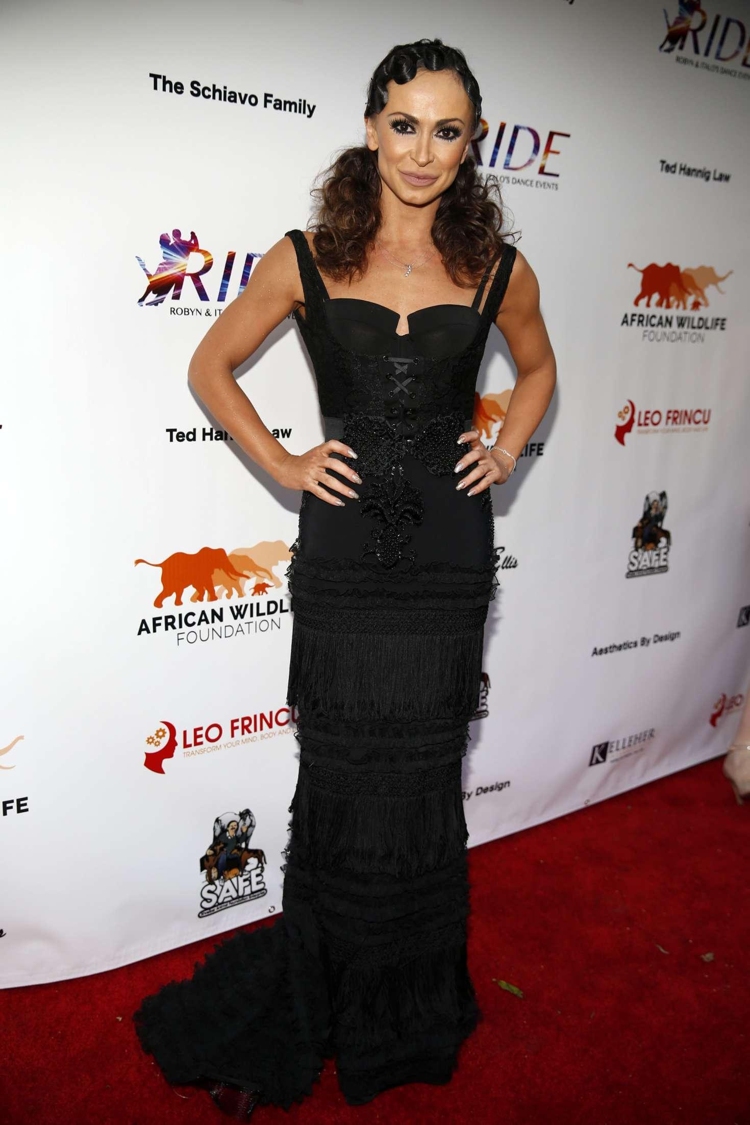 Karina Smirnoff - Ride Foundation inaugural gala dance for Africa in Hollywood