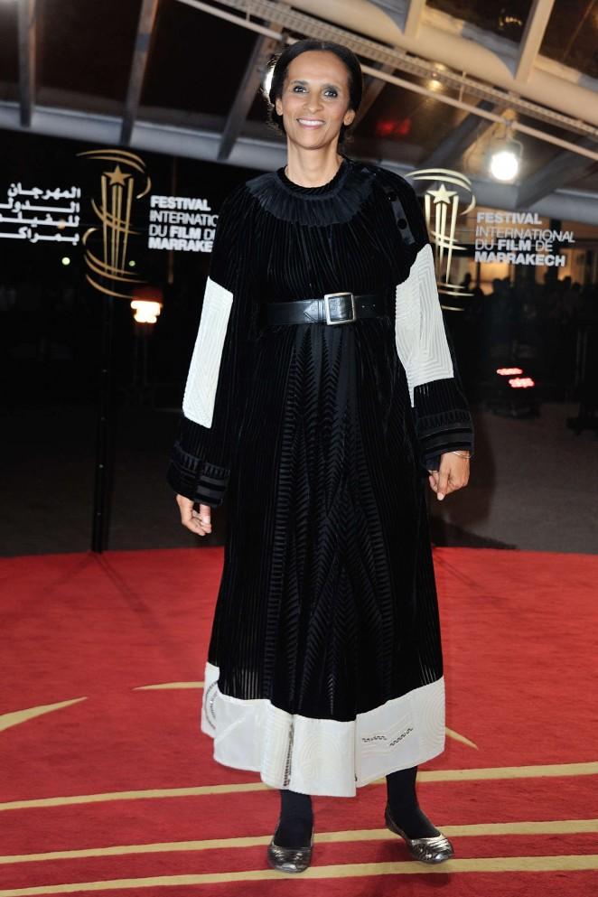 Karine Silla  - 2015 Marrakech International Film Festival Closing Ceremony in Marrakech