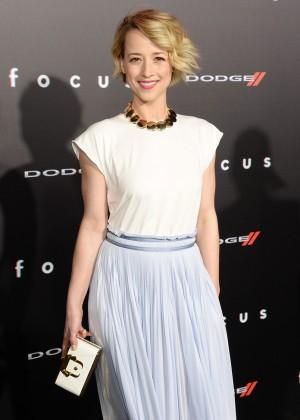"""Karine Vanasse - """"Focus"""" Premiere in Los Angeles"""
