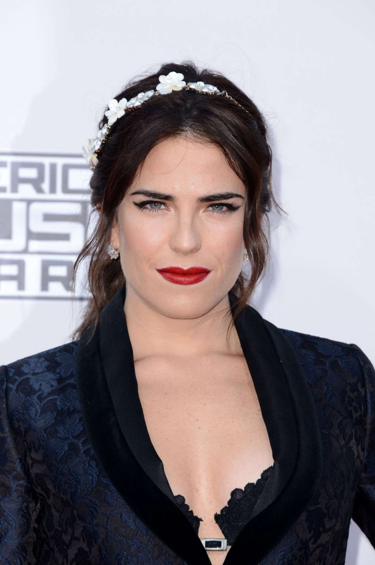 Karla souza 2015 american music awards in los angeles