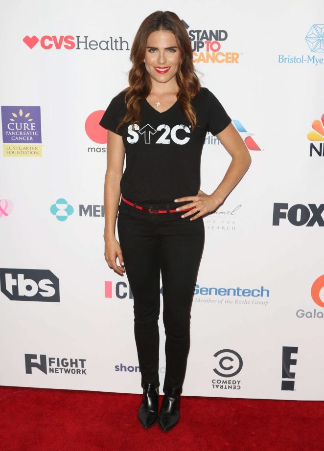 Karla Souza: 5th Biennial Stand Up To Cancer -01