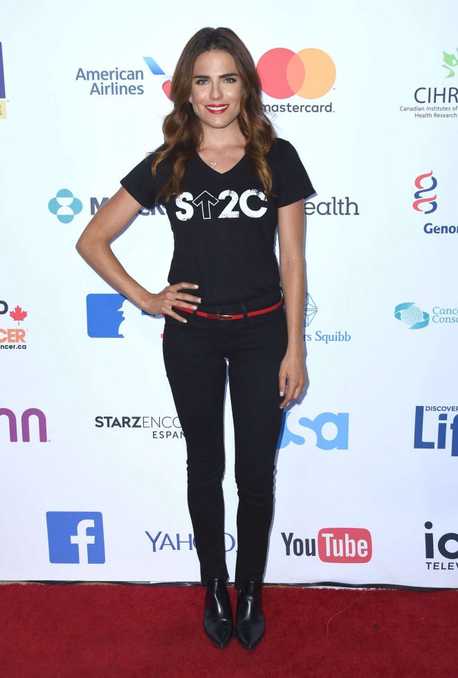 Karla Souza: 5th Biennial Stand Up To Cancer -02
