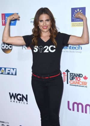 Karla Souza - 5th Biennial Stand Up To Cancer in Los Angeles