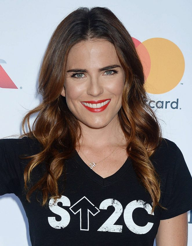 Karla Souza: 5th Biennial Stand Up To Cancer -07