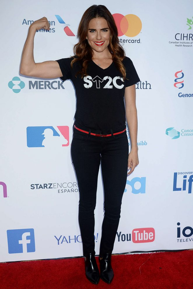 Karla Souza: 5th Biennial Stand Up To Cancer -09