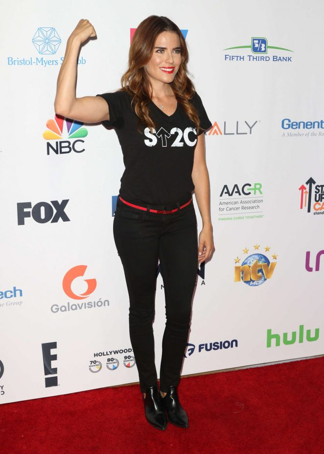 Karla Souza: 5th Biennial Stand Up To Cancer -12