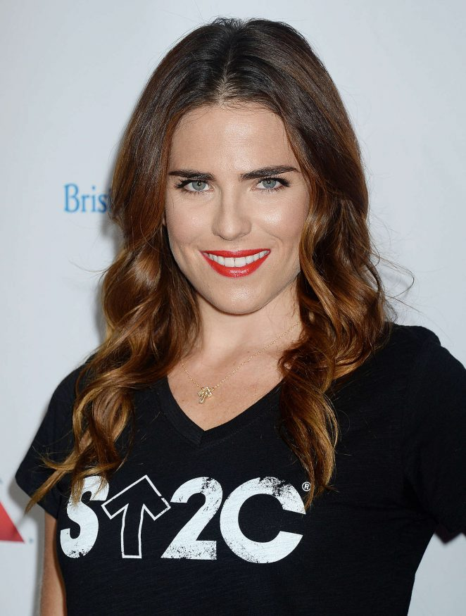 Karla Souza: 5th Biennial Stand Up To Cancer -13