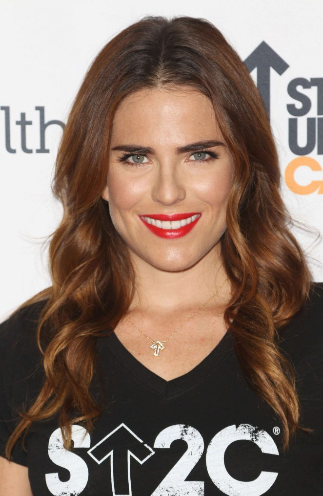 Karla Souza: 5th Biennial Stand Up To Cancer -19