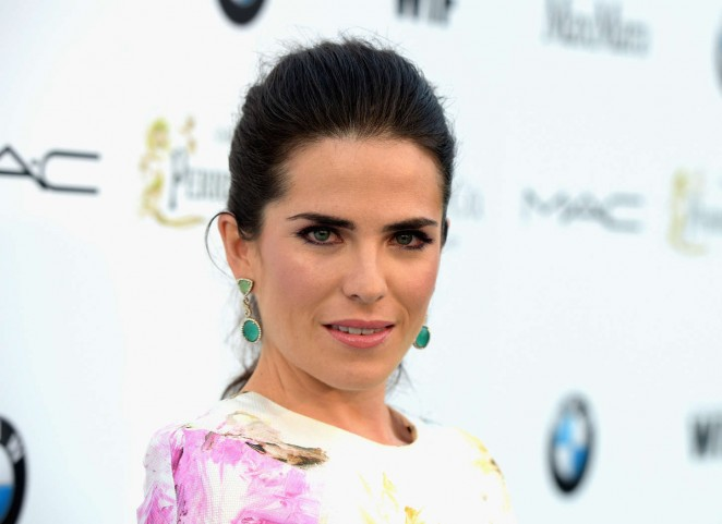 Karla Souza: 2015 Women in Film Pre Oscar Cocktail Party -01