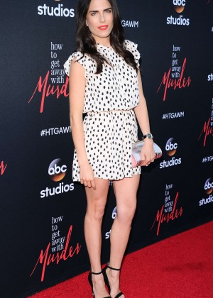 Karla Souza - 'How To Get Away With Murder' ATAS Screening Event in Hollywood