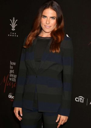 Karla Souza - 'How To Get Away With Murder' TV series Premiere in Los Angeles