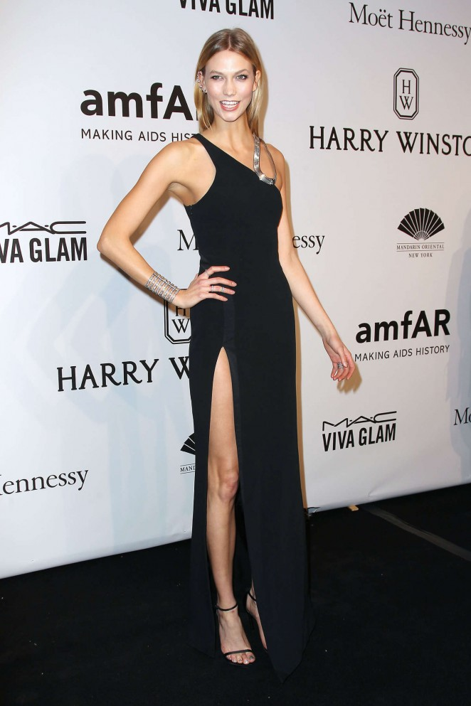 Karlie Kloss: 2015 amfAR New York Gala -10