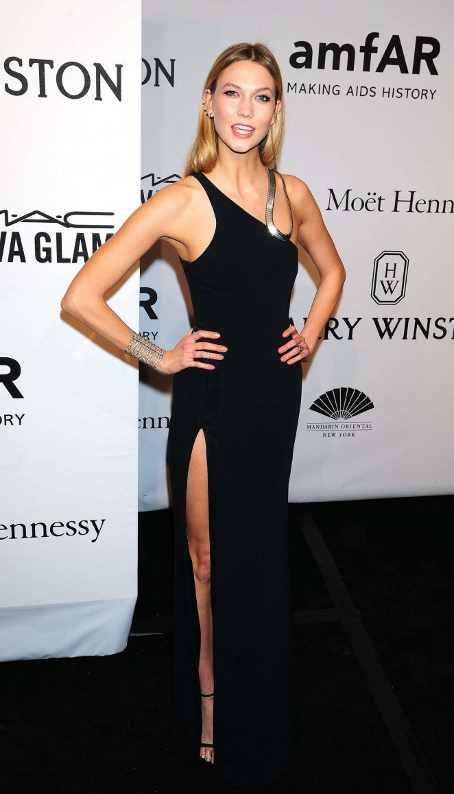 Karlie Kloss: 2015 amfAR New York Gala -13
