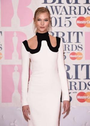 Karlie Kloss - 2015 BRIT Awards in London