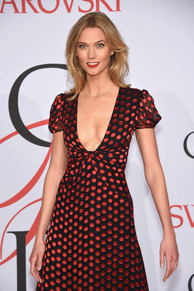 Karlie Kloss - 2015 CFDA Fashion Awards in NYC