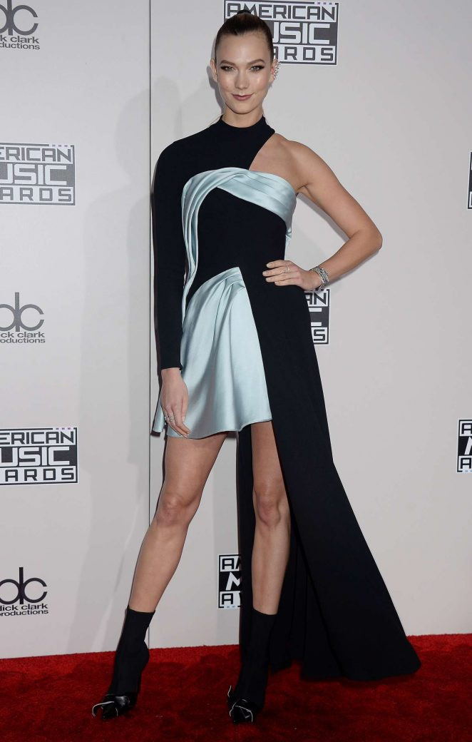 Karlie Kloss: 2016 American Music Awards -07