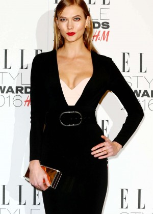 Karlie Kloss - 2016 Elle Style Awards in London