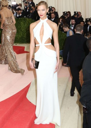 Karlie Kloss - 2016 Met Gala in NYC