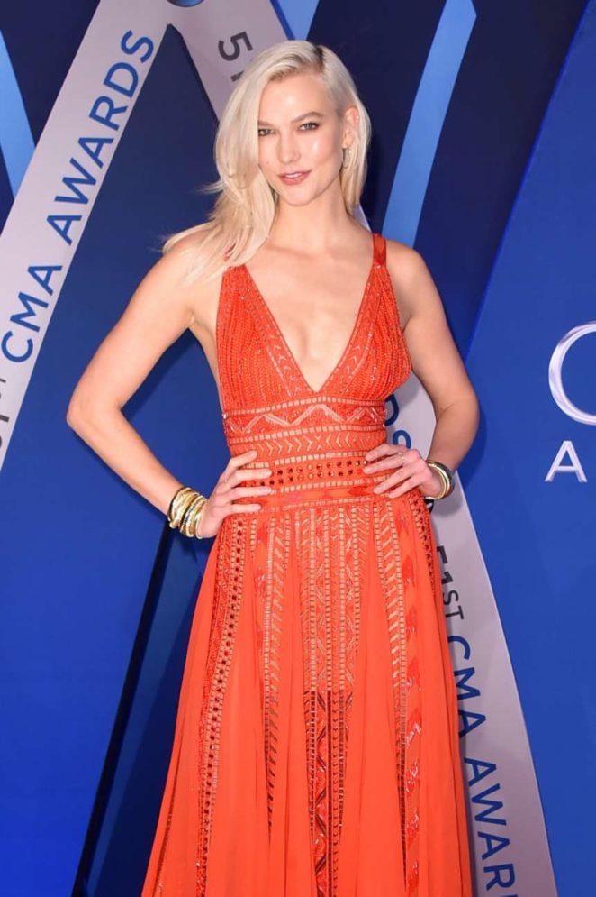 Karlie Kloss - 51st Annual CMA Awards in Nashville