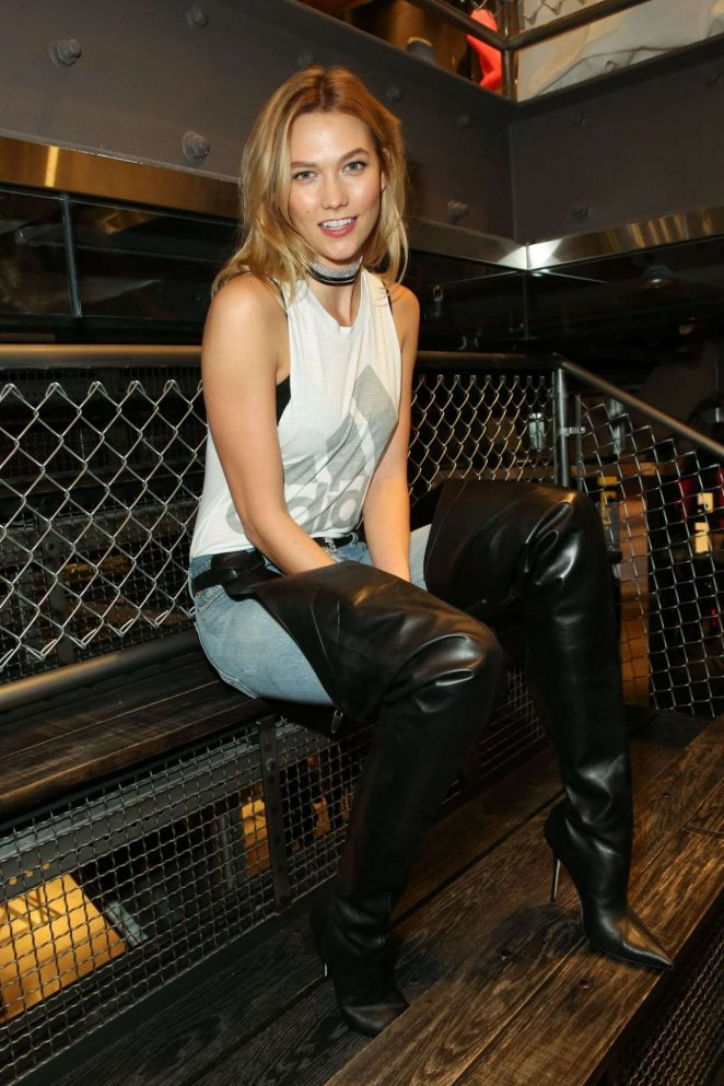 Karlie Kloss – Adidas Flagship Preview Party in New York