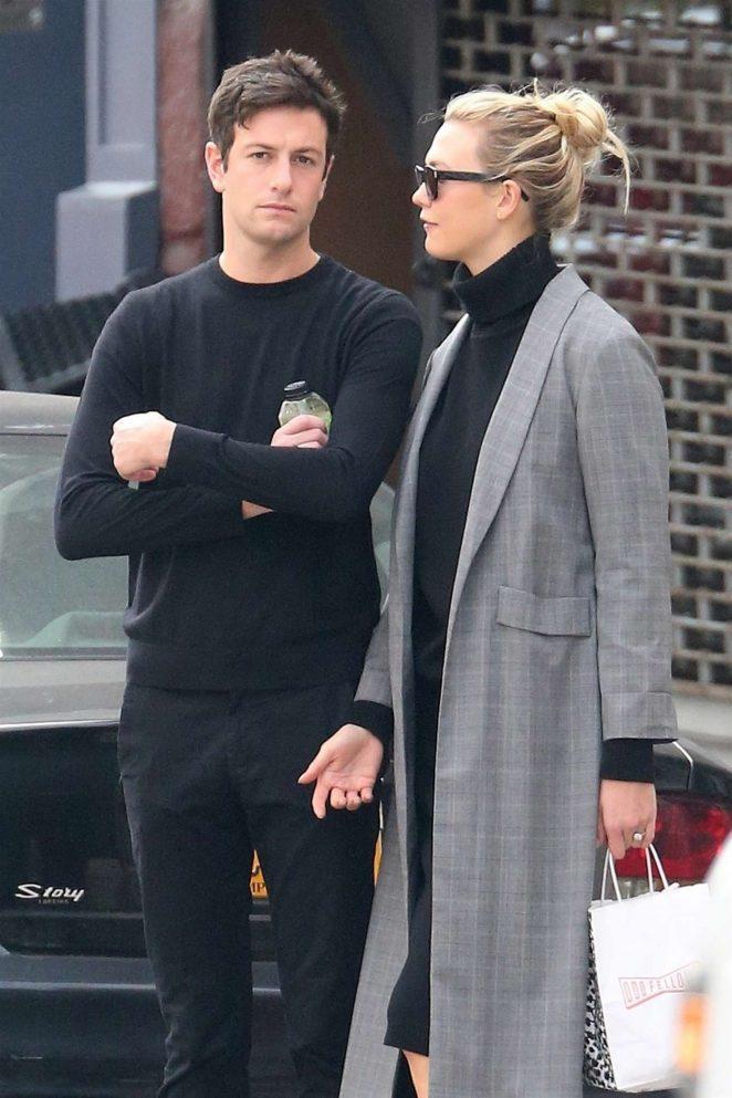 Karlie Kloss and fiance Joshua Kushner - Out in New York City
