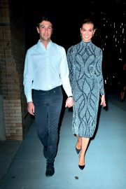Karlie Kloss and Josh Kushner - Leave the Project Runway Party in NY