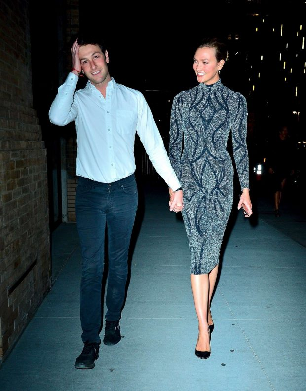 Karlie Kloss and Josh Kushner: Leave the Project Runway Party -03