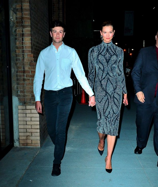 Karlie Kloss and Josh Kushner: Leave the Project Runway Party -04