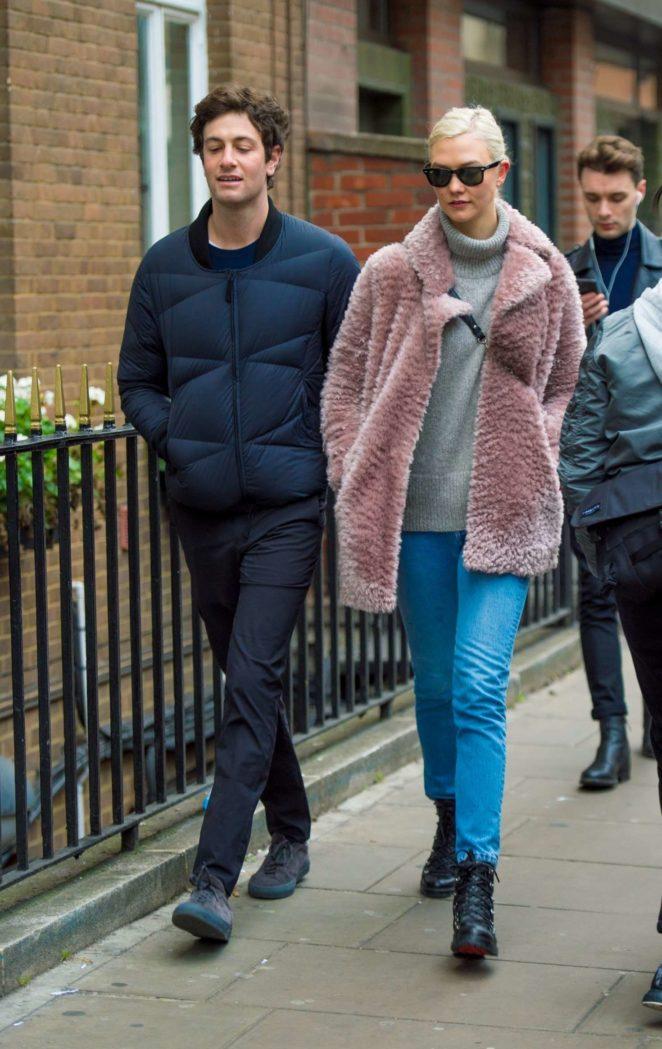 Karlie Kloss and Josh Kushner – Out in London