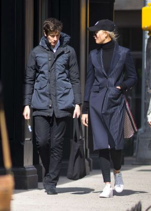 Karlie Kloss and Joshua Kushner out in New York City